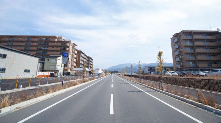 奈良県道124号 電柱の無い道路誕生エピソード